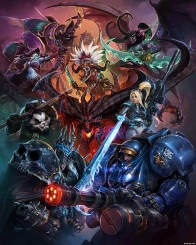Первое официальное изображение Heroes of the Storm
