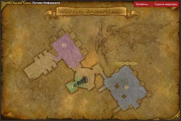Хромаггус - карта