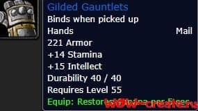 Gilded Gauntlets