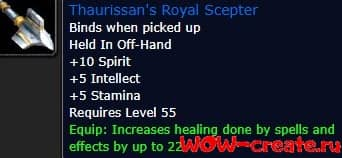 Thaurissan's Royal Scepter